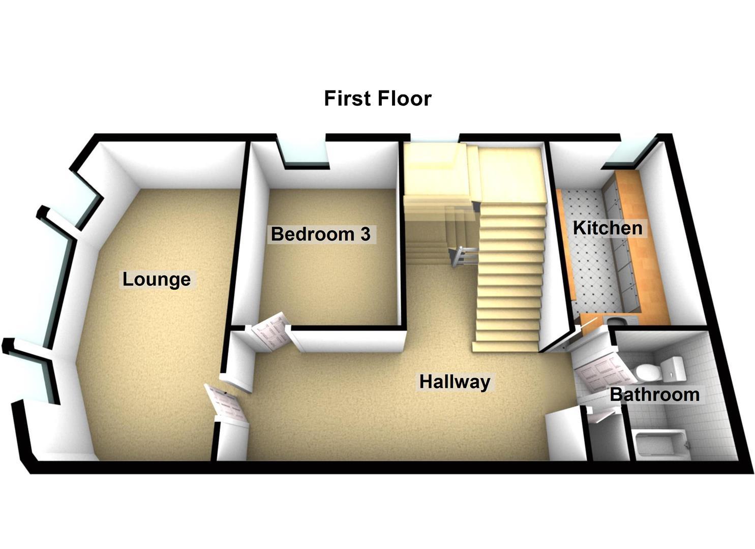 Upper Flat 8 Union Terrace